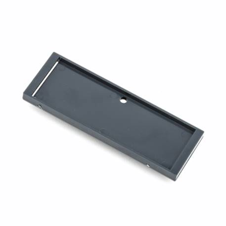 Rectangular Blank Magnetic ID Name Plate Badge - 66 x 21.5mm